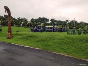 Toy train at Eco Park