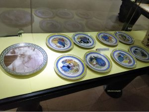 Porcelain crockery sets - at the museum