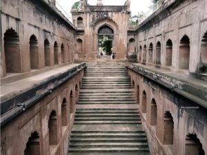 View of the Shahi Baoli