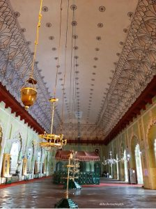 The magnificent halls of the imambara
