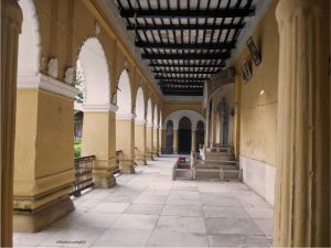 In the halls of Nashipur Palace