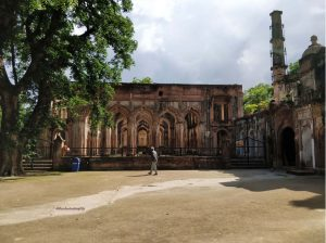 The erstwhile imambara inside the Residency