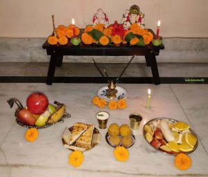 Offerings to Lord Ganesha