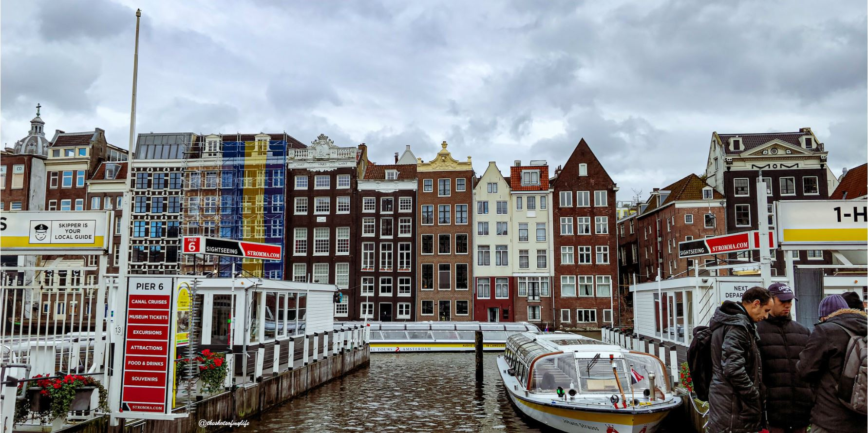 The canal ring of Amsterdam